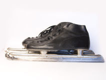 Speed skating skates Royalty Free Stock Image
