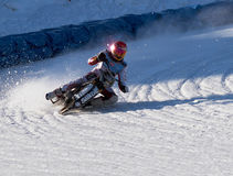 Speed. Saransk,Mordoviya,Ice Racing,World Championship Stock Image