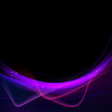 Speed swoosh modern abstract line border Royalty Free Stock Photo