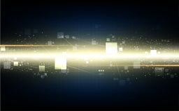 Speed technology digital networking design concept background Stock Photo