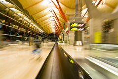 Speed in the terminal Royalty Free Stock Photos