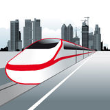 Speed Train Royalty Free Stock Photos