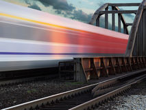 Speed train Royalty Free Stock Images