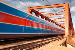 The speed train Royalty Free Stock Photography