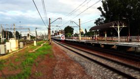 Speed train stock video footage