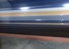 Speed of Train stock photo