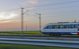Speed train Stock Images