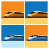Speed train Royalty Free Stock Photo