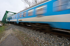 Speed train Stock Photo