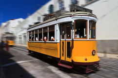 Speed tram Royalty Free Stock Photos
