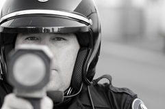 Speed trap Stock Photography