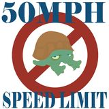 Speed turtle Stock Photography