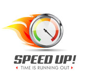 Speed up - business acceleration. Concept Royalty Free Stock Photos