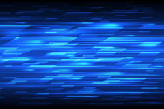 Speed vector abstract technology background. Fast lines blue moving design pattern Stock Photos