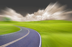 Speed Way Royalty Free Stock Photography