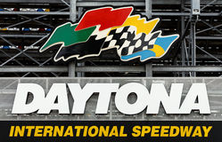 Speed-way d'International de Daytona Photos libres de droits