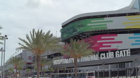 Speed-way d'International de Daytona banque de vidéos