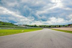 Speed-way de Nurburgring, Allemagne photographie stock libre de droits