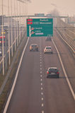 Speed-way S17 près à Lublin, Pologne Photo libre de droits