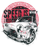 Speed is what I need Royalty Free Stock Photos