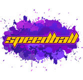 Speedball - is a format of Paintball gaming Royalty Free Stock Photo