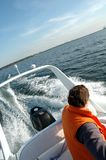 Speedboat 1 Royalty Free Stock Image