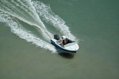 speedboat стоковое изображение