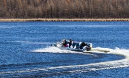 speedboat стоковые изображения rf