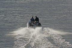 speedboat Royaltyfri Foto