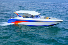 speedboat royaltyfri bild