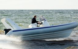 Speedboat 25 Royalty Free Stock Photography