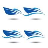 speedboat stock illustrationer