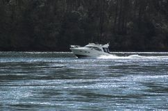speedboat Royaltyfri Fotografi