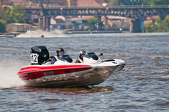 Speedboat in Action Stock Photos