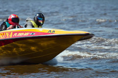 Speedboat in Action Royalty Free Stock Photo
