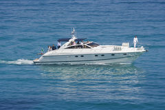 Speedboat in action Stock Photography
