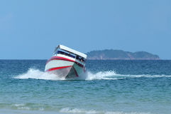 Speedboat At Sea Stock Images