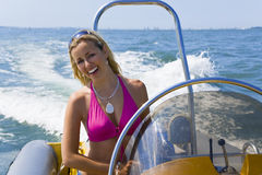 Speedboat Beauty Royalty Free Stock Photos