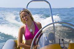 Speedboat Beauty royalty free stock photos