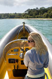 Speedboat Beauty Royalty Free Stock Image