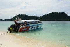 speedboat Ko Khai Провинция Satun Таиланд стоковое фото