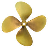 Speedboat propeller Royalty Free Stock Photos