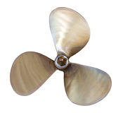 Speedboat propeller Royalty Free Stock Photography