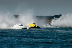 Speedboat Race Royalty Free Stock Photos