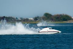 Speedboat Race Royalty Free Stock Images