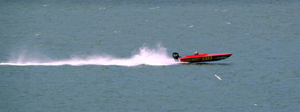 Speedboat race Stock Image