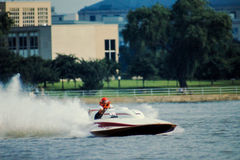 Speedboat Racing. Stock Photos