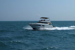 Speedboat. The speedboat run from Pattaya to Koh Lan Royalty Free Stock Photos