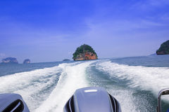 Speedboats Stock Photos