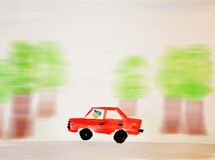 Speeder Royalty Free Stock Photography
